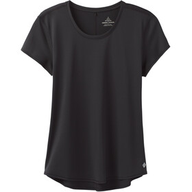 Prana Reeve Chemise manches courtes Femme, black